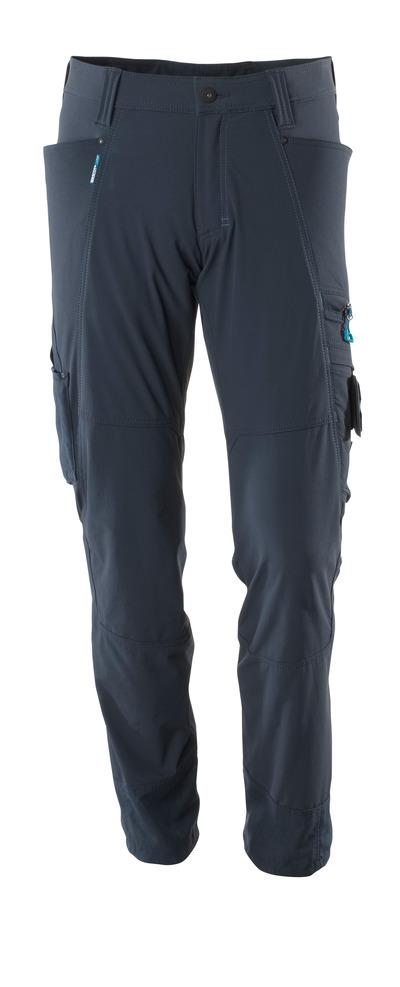 MASCOT® ADVANCED - ciemny granat - Spodnie, czterokierunkowy strecz, niska waga