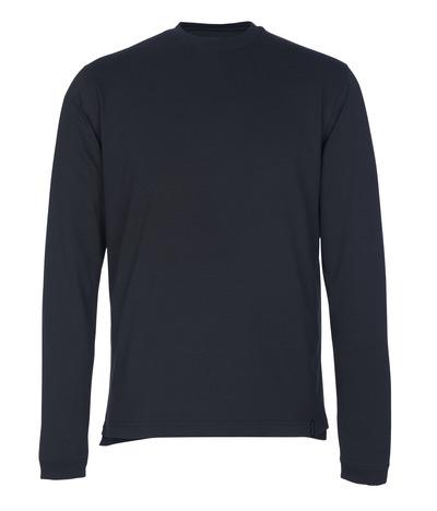 MASCOT® Albi - ciemny granat - T-Shirt z długimi rękawami, nowoczesny krój