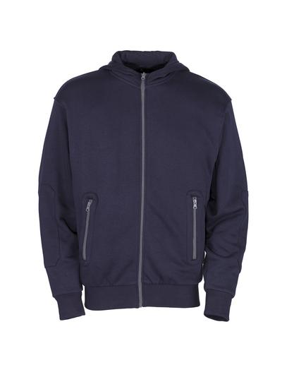 MASCOT® Altea - granat - Bluza z kapturem z zamkiem błyskawicznym, nowoczesny krój