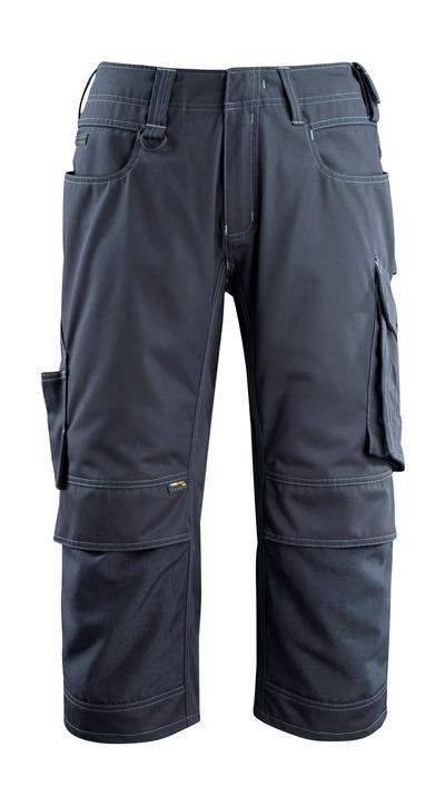 MASCOT® Altona - ciemny granat - Spodenki ¾ z kieszeniami CORDURA® na kolanach, niska waga