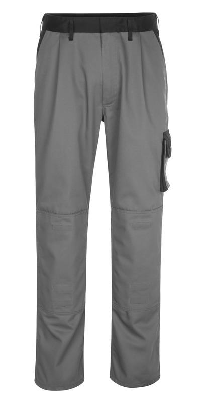 MASCOT® Ancona - antracyt/czerń - Spodnie z kieszeniami na kolanach, niska waga