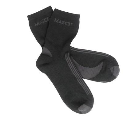 MASCOT® Asmara - czerń/ciemny antracyt - Skarpety