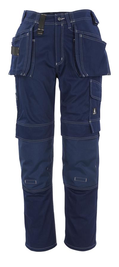 MASCOT® Atlanta - granat - Spodnie z kieszeniami CORDURA® na kolanach i kieszeniami wiszącymi, bawełna
