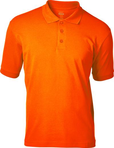 MASCOT® Bandol - pomarańcz hi-vis  - Koszulka Polo, podwyższona widoczność, nowoczesny krój