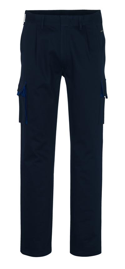MASCOT® Barretos - granat/niebieski* - Spodnie