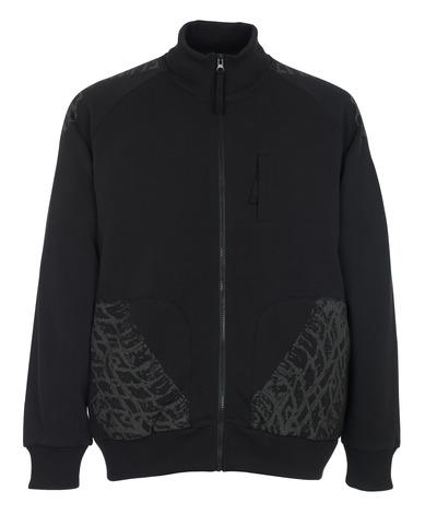 MASCOT® Belfort - czerń* - Bluza z zamkiem błyskawicznym
