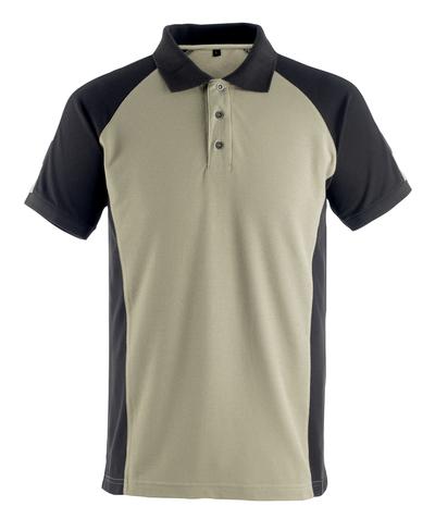 MASCOT® Bottrop - jasny khaki/czerń* - Koszulka polo