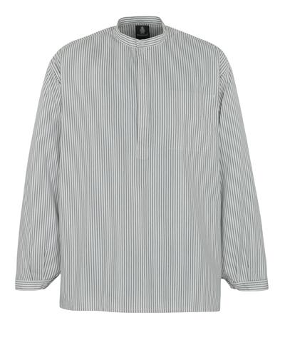 MASCOT® Buffalo - biel/granat - Koszula dla murarzy