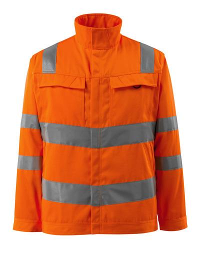 MASCOT® Bunbury - pomarańcz hi-vis  - Kurtka Robocza, jeden kolor, klasa 3.