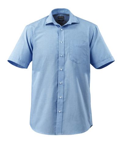 MASCOT® CROSSOVER - jasny niebieski - Koszula Oxford, klasyczny krój, krótkie rękawy.