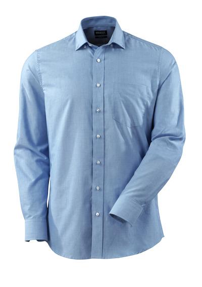 MASCOT® CROSSOVER - jasny niebieski - Koszula Oxford, nowoczesny krój, długie rękawy.