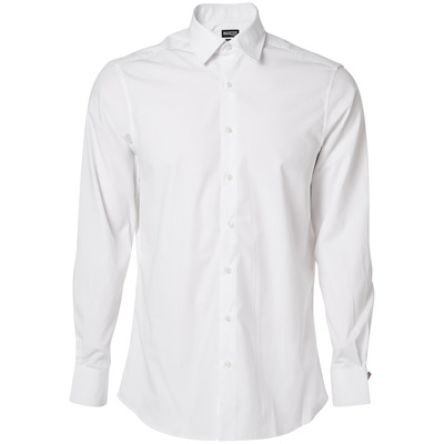 MASCOT® CROSSOVER - biel - Koszula, popelina, nowoczesny krój