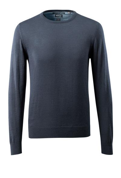 MASCOT® CROSSOVER - ciemny granat - Bluza z Dzianiny, z wełną merynosową.
