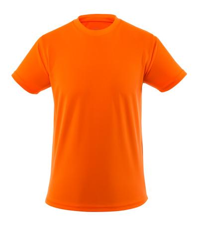 MASCOT® Calais - pomarańcz hi-vis  - T-Shirt, podwyższona widoczność, niska waga, nowoczesny krój