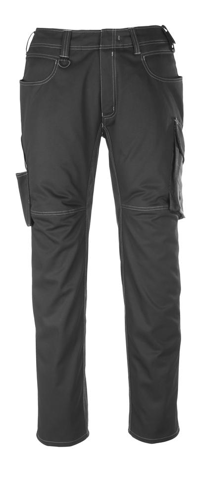 MASCOT® Dortmund - czerń/ciemny antracyt - Spodnie, wysoka odporność na zużycie