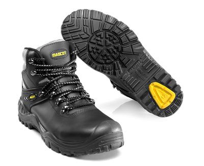 MASCOT® Elbrus - czerń/zółty - Trzewiki S3 ze sznurowadłami
