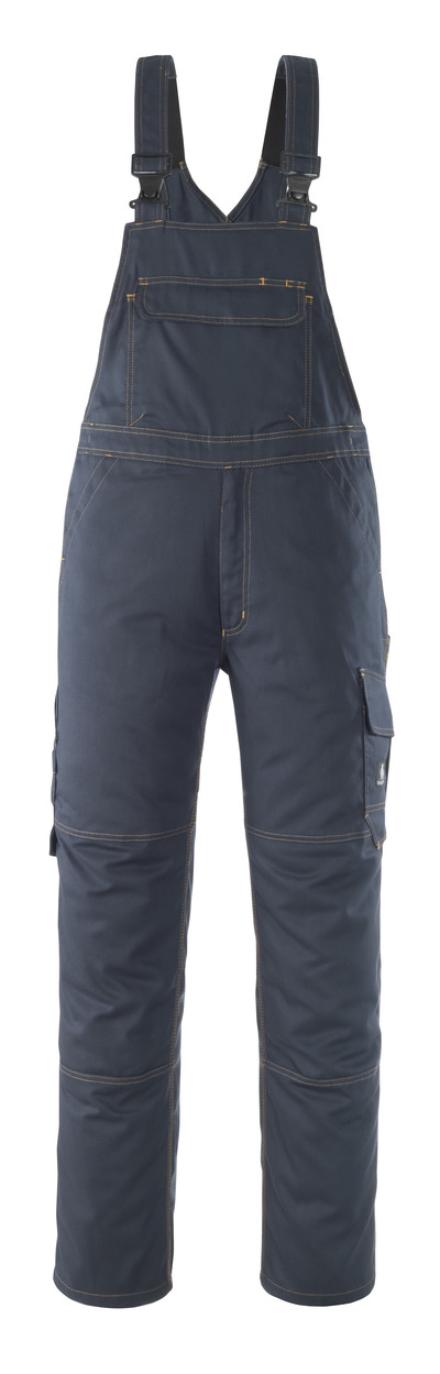 MASCOT® Elvas - ciemny granat* - Spodnie Ogrodniczki