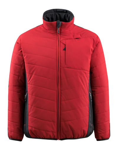 MASCOT® Erding - czerwień/czerń - Kurtka z podszewką, wodoodporna tkanina, wysokie właściwości izolujące