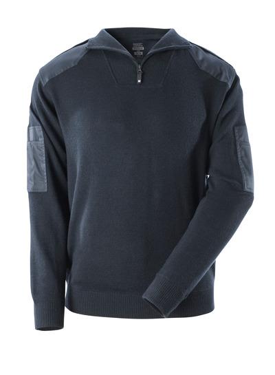 MASCOT® FRONTLINE - ciemny granat - Bluza z dzianiny ze wzmocnieniami, z wełny