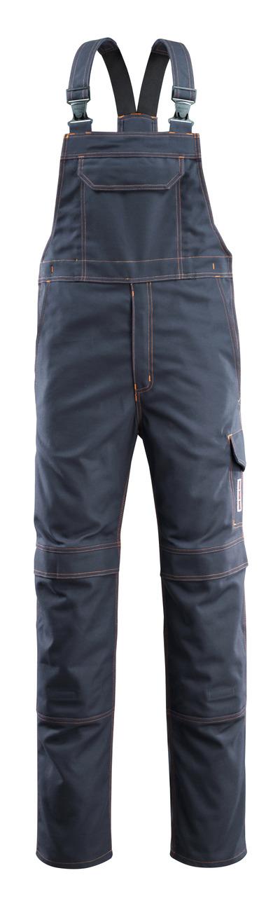 MASCOT® Freibourg - ciemny granat - Ogrodniczki z kieszeniami na kolanach, wszechstronna ochrona
