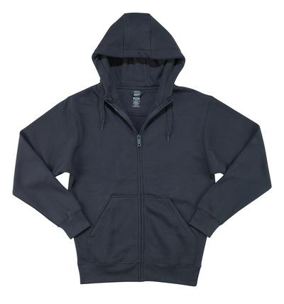 MASCOT® Gimont - ciemny granat - Bluza z kapturem z zamkiem błyskawicznym, nowoczesny krój