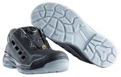 MASCOT® Grofa - czerń/antracyt - Sandały ochronne S1P z systemem zapinania Boa®
