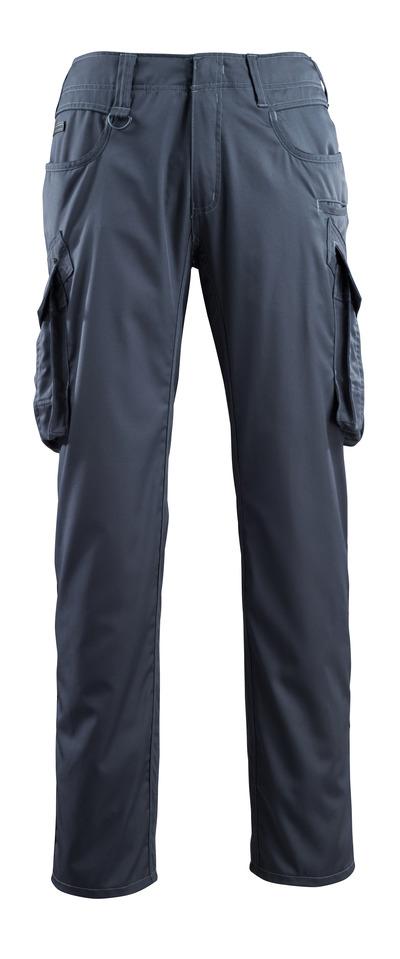 MASCOT® Ingolstadt - ciemny granat - Spodnie z kieszeniami na udach, bardzo niska waga