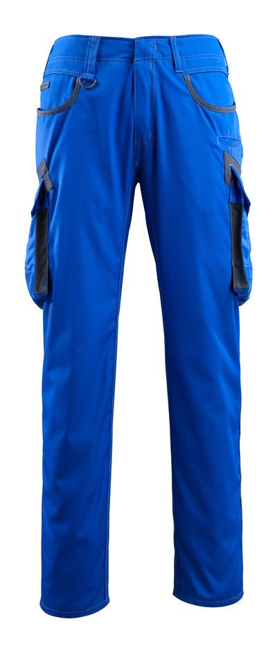 MASCOT® Ingolstadt - niebieski/ciemny granat - Spodnie z kieszeniami na udach, bardzo niska waga