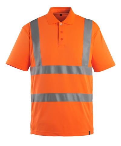 MASCOT® Itabuna - pomarańcz hi-vis  - Koszulka polo, nowoczesny krój, klasa 2