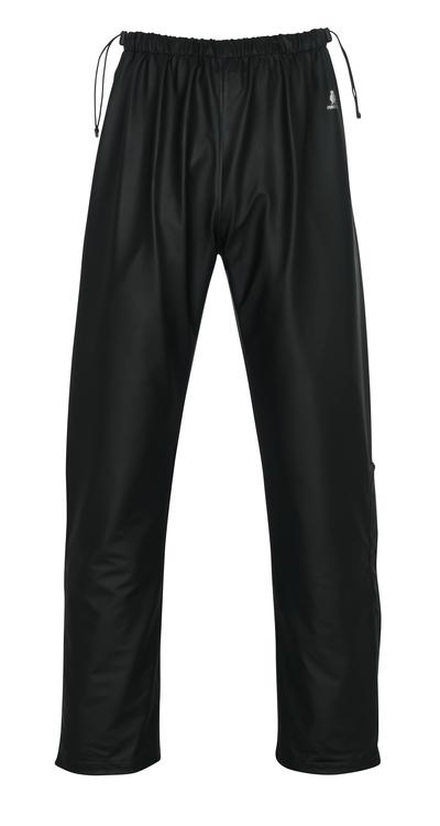 MASCOT® Laguna - czerń - Spodnie przeciwdeszczowe, właściwości wiatro- i wodoszczelne