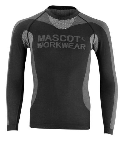 MASCOT® Lahti - czerń - Podkoszulek funkcjonalny, niska waga, izolacyjne