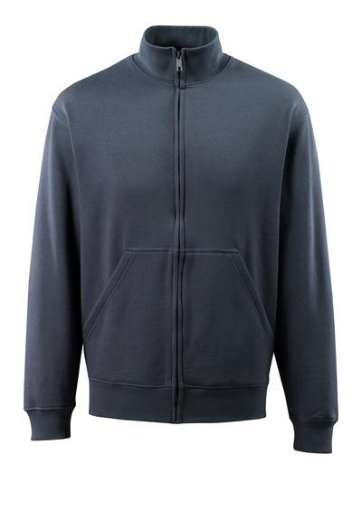 MASCOT® Lavit - ciemny granat - Bluza z zamkiem błyskawicznym, nowoczesny krój