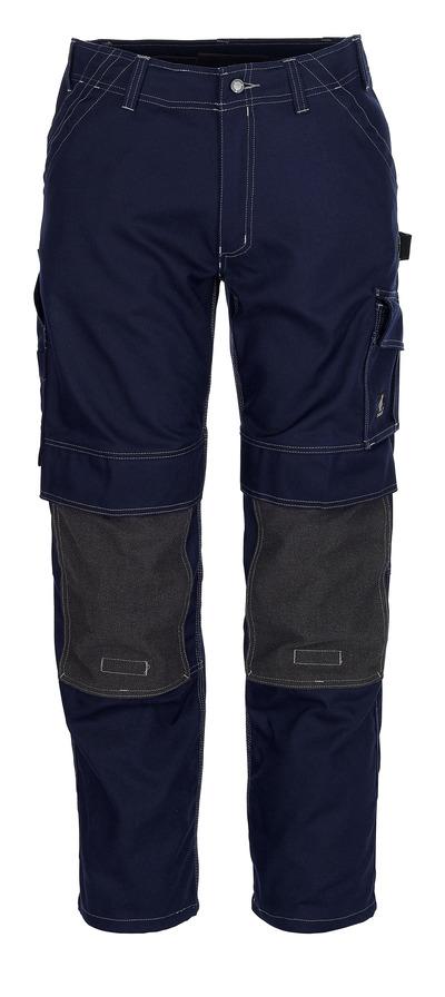 MASCOT® Lerida - granat - Spodnie z kieszeniami Kevlar® na kolanach, wysoka odporność na zużycie