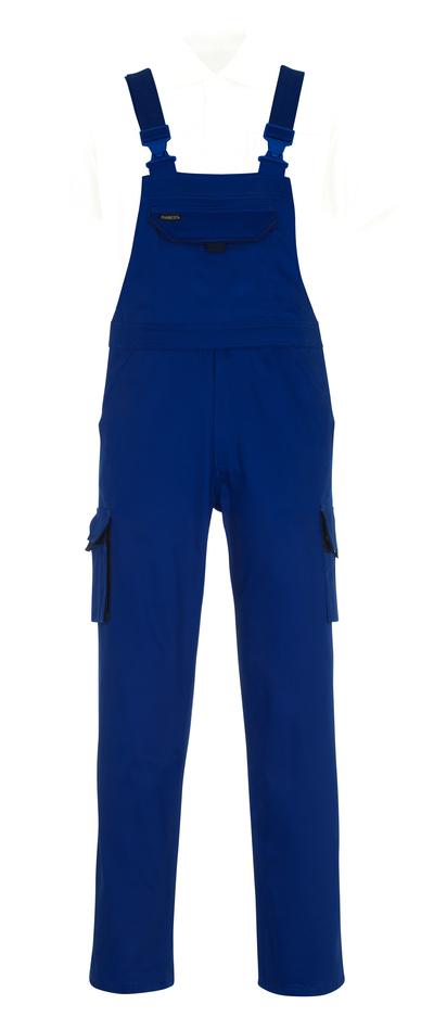 MASCOT® Londrina - niebieski/granat* - Spodnie Ogrodniczki