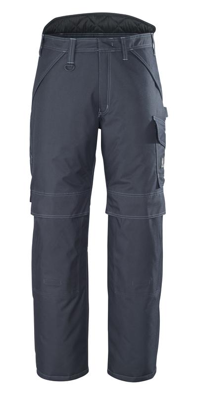 MASCOT® Louisville - ciemny granat - Spodnie zimowe, wodoszszelne