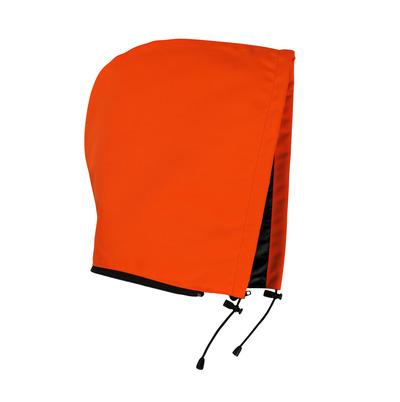 MASCOT® MacAllen - pomarańcz hi-vis  - Kaptur na zamek błyskawiczny z podszewką, wodoodporna tkanina