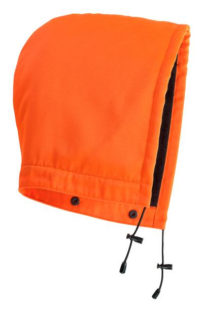MASCOT® MacAllen - pomarańcz hi-vis  - Kaptur na zatrzaski z podszewką, wodoodporna tkanina