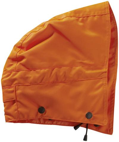 MASCOT® MacCall - pomarańcz hi-vis  - Kaptur na zatrzaski z podszewką, wodoszszelny