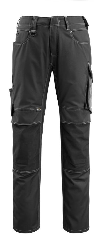 MASCOT® Mannheim - czerń/ciemny antracyt - Spodnie