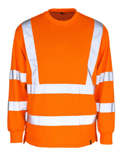 MASCOT® Melita - pomarańcz hi-vis  - Bluza, klasyczny krój, klasa 3