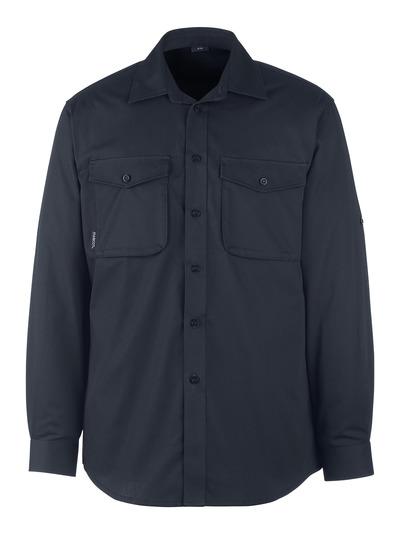 MASCOT® Mesa - ciemny granat - Koszula, nowoczesny krój