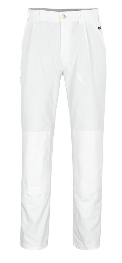 MASCOT® Michigan - biel* - Spodnie z kieszeniami na kolanach