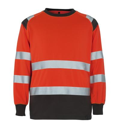 MASCOT® Montijo - czerwień hi-vis/ciemny antracyt* - Bluza, klasyczny krój, klasa 2