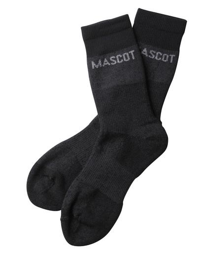 MASCOT® Moshi - ciemny nakrapiany antracyt - Skarpety, odprowadzające wilgoć