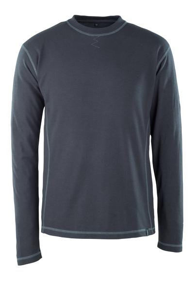 MASCOT® Muri - ciemny granat - T-Shirt z długimi rękawami, wszechstronna ochrona, nowoczesny krój