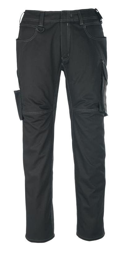 MASCOT® Oldenburg - czerń/ciemny antracyt - Spodnie