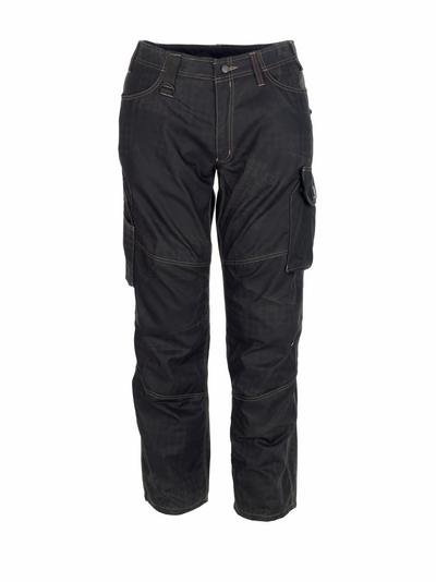 MASCOT® Ovar - czerń z nadrukiem* - Spodnie