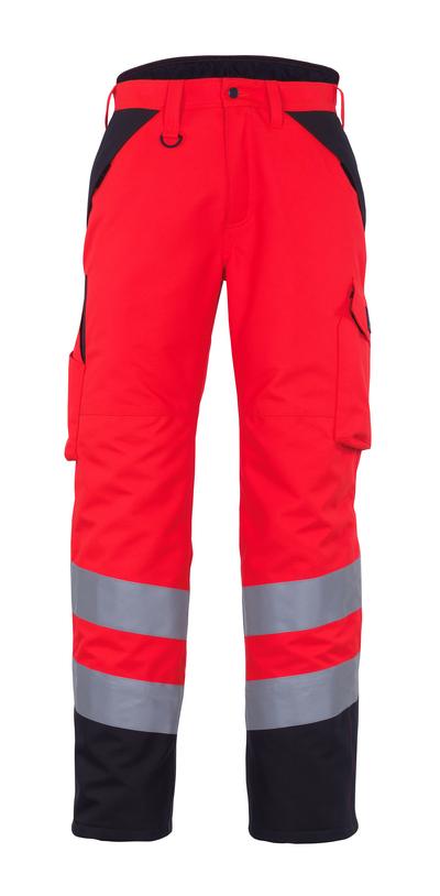 MASCOT® Palmela - czerwień hi-vis/ciemny antracyt* - Spodnie Zimowe
