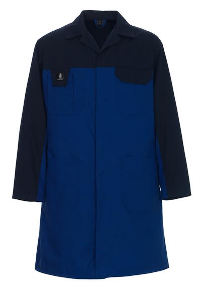 MASCOT® Parma - niebieski/granat - Płaszcz roboczy, niska waga