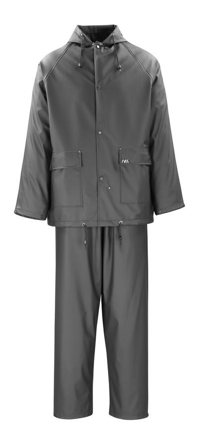 MACMICHAEL® Pavao - czerń - Kurtka i Spodnie przeciwdeszczowe, właściwości wiatro- i wodoszczelne